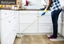 Rengøring i et hjem med baby